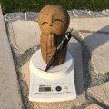 石ってどのぐらい重いかご存知ですか?